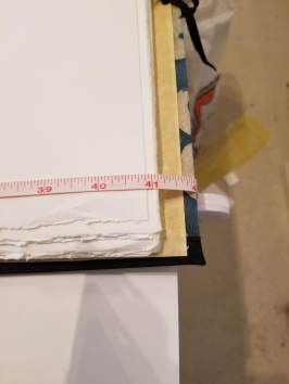 "The journal is about 42"" wide"